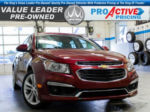 Pre-Owned 2016 Chevrolet Cruze Limited LTZ FWD Sedan