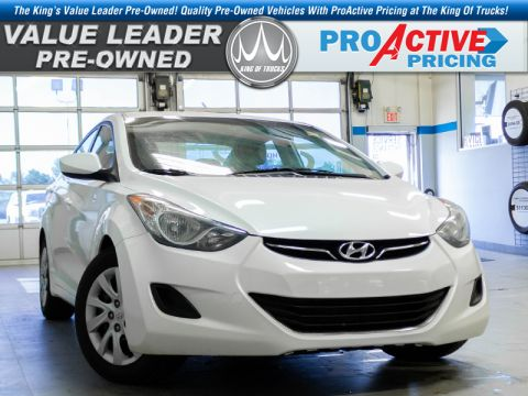 Pre-Owned 2013 Hyundai Elantra GL - Cruise Control FWD Sedan